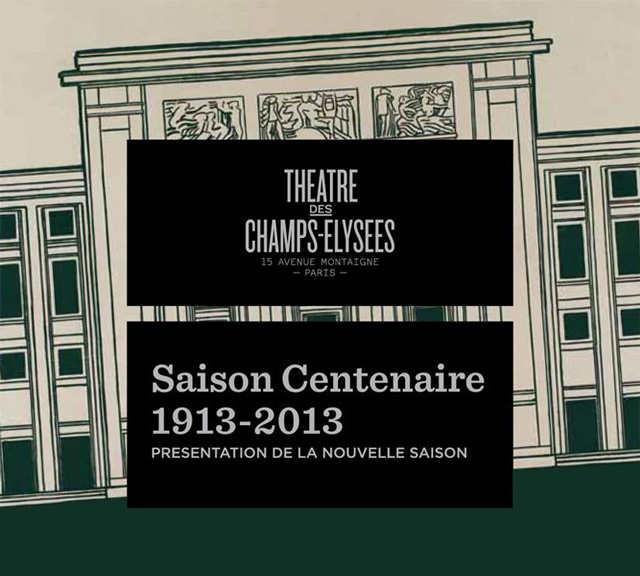 Théâtre des Champs-Élysées Season 2012/13
